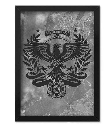 Poster com Moldura Militar Spezialkrafte