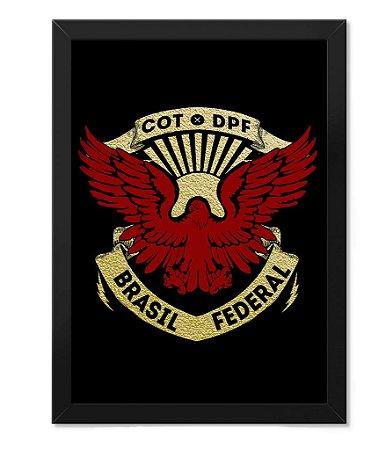 Poster com Moldura Militar COT