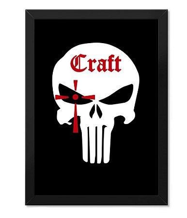 Poster com Moldura Militar Craft Chris Kyle