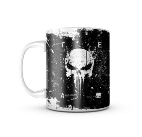 Caneca Militar New Punisher