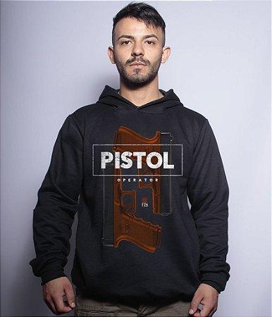 Casaco Militar Com Capuz Glock Pistol Operator