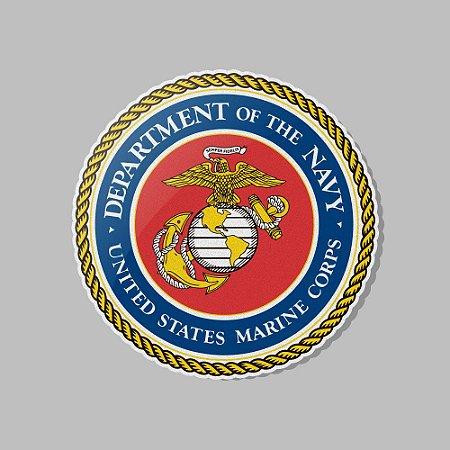 Adesivo Exclusivo Marines Corp