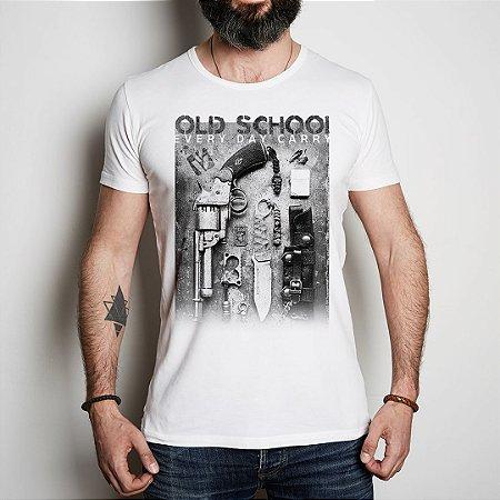 Camiseta Militar Casual Vidi Vici EDC Old School Every Day Care
