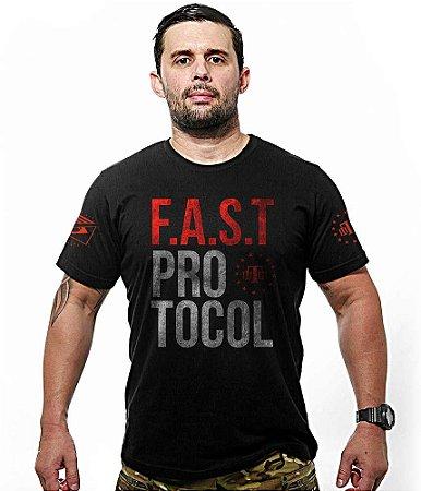 Camiseta Militar Fast Protocol Team Six