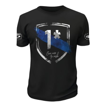 Camiseta Tactical Fritz One Ass To Risk Team Six