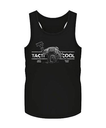 Camiseta Regata Militar Instrutor Fritz Urban Vintage Tacti Cool