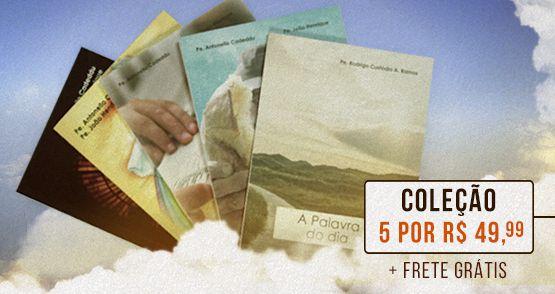 Combo 5 Livros Nosso Carisma