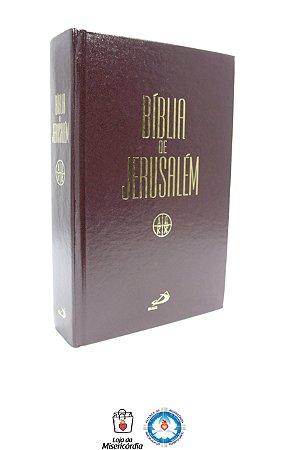Bíblia de Jerusalém Capa Dura s/zíper