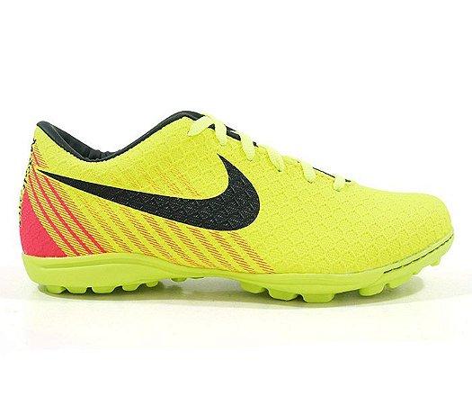 fb4ac18be7 Chuteira Society Nike Magista Amarelo Limão e Rosa - expresso shopping
