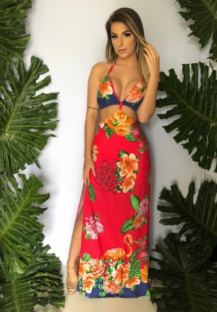 Vestido L. Flamingo