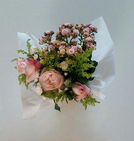 Vaso de Kalandiva e Rosas Harmonia