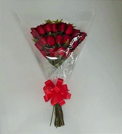 Buquê de Rosas Personalizado