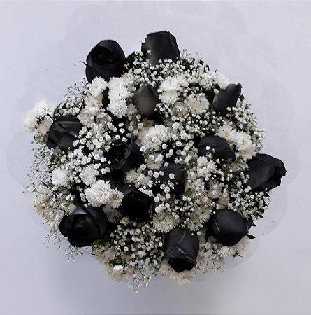 Buquê de Rosas Negras
