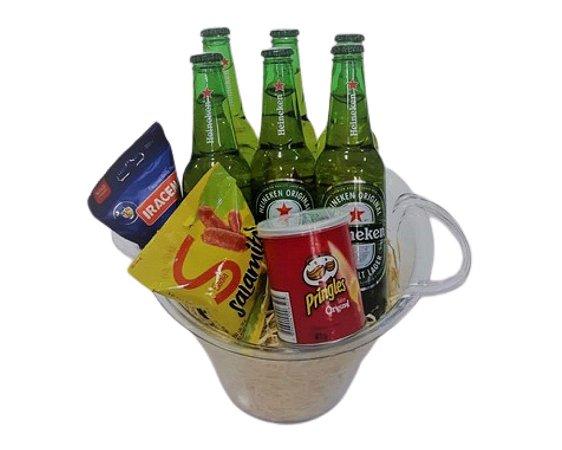 Balde de Cerveja Heineken