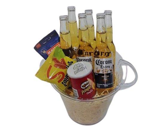 Cerveja no Balde Corona