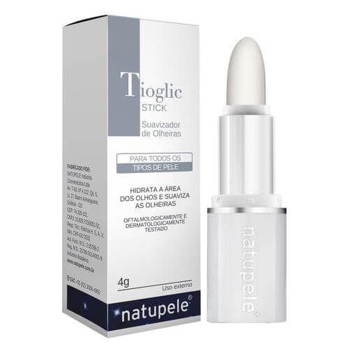 Tratamento de olheiras Tioglic Stick area dos olhos Natupele 4g