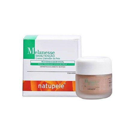 Creme Clareador da Pele Rejuvenescedor Facial Melaness Peeling Natupele 15g