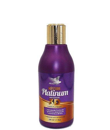 Matizador Platinum 3D Efeito Platinado Alise Hair 250ml