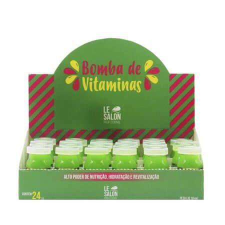 Ampola de Tratamento Bomba de Vitaminas 12ml Le Salon Caixa C/24UN