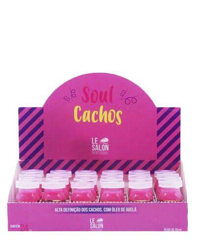 Ampola de Tratamento Soul Cachos 12ml Le Salon Caixa C/24UN