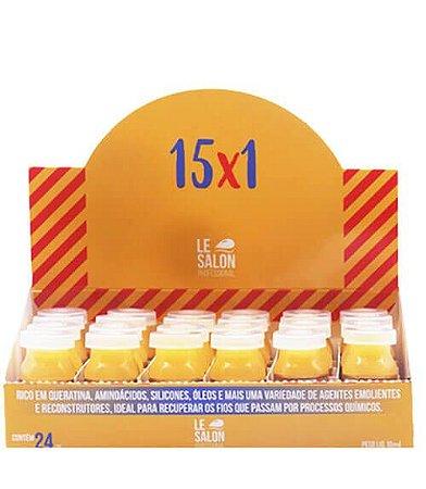 Ampola de Tratamento 15X1 Le Salon 12ml Caixa C/24UN