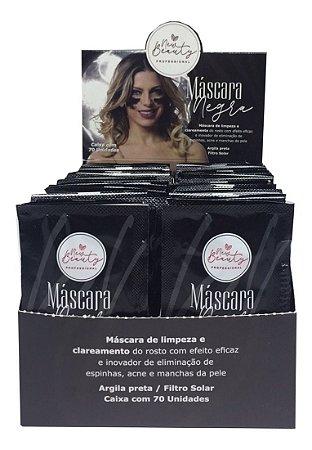 Máscara Negra Removedora de Cravos New Beauty C/70 Sachês 7ml