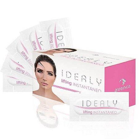 Creme Facial Lifting Instantâneo Idealy Avenca Cosméticos Kit 50 Sachê 0,5g