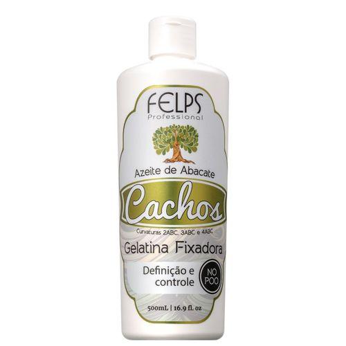 Gelatina Fixadora Cachos Azeite de Abacate Felps Professional 500ml