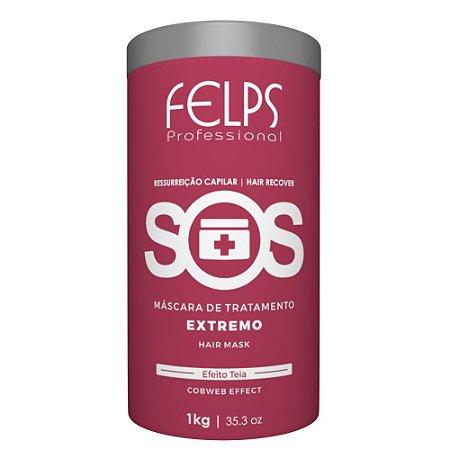 Máscara de Reconstrução Extrema SOS Felps Professional 1Kg