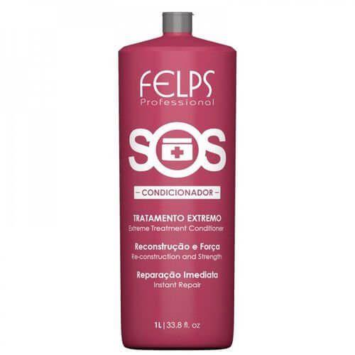 Condicionador de Reconstrução Extrema SOS Felps Professional 1000ml