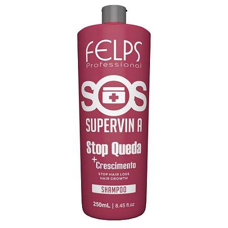 Shampoo Stop Queda SOS Supervin A Felps Profissional 250ml