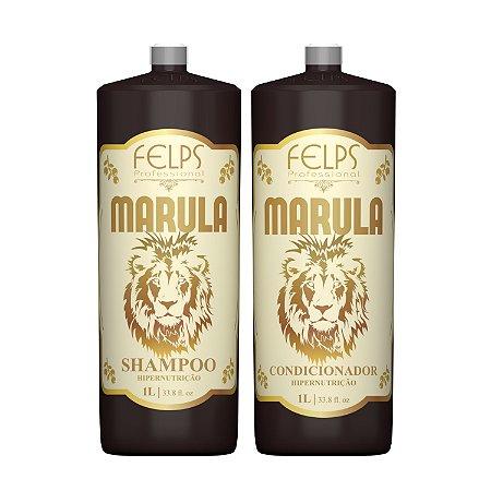 Felps Profissional Marula Kit Duo Profissional de Hipernutrição 2x1000ml
