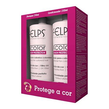 Shampoo e Condicionador Xcolor Protector Felps Professional Kit 2X250ml