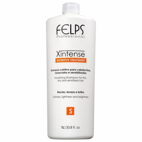 Shampoo XIntense Nutritive Treatment Felps Profissional 1000ml