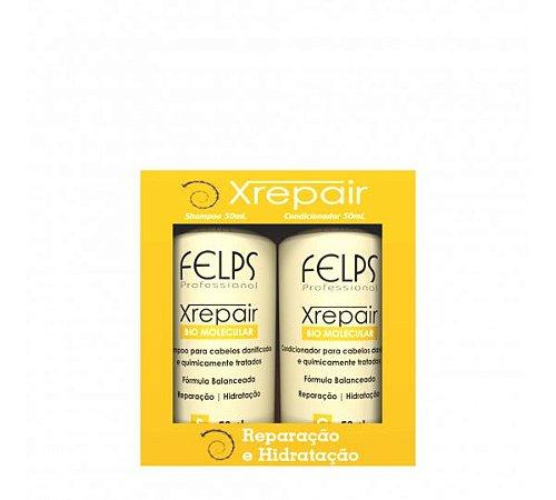 Kit Felps Profissional XRepair Bio Molecular Bolsa (2 Produtos)