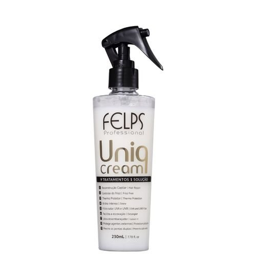 Leave-In Uniq Cream Treatment 9 em 1 Felps Profissional 230ml