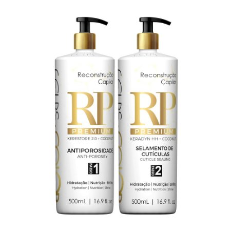 Reconstrução Premium Tratamento RP Color Felps Professional Kit 2x500mL