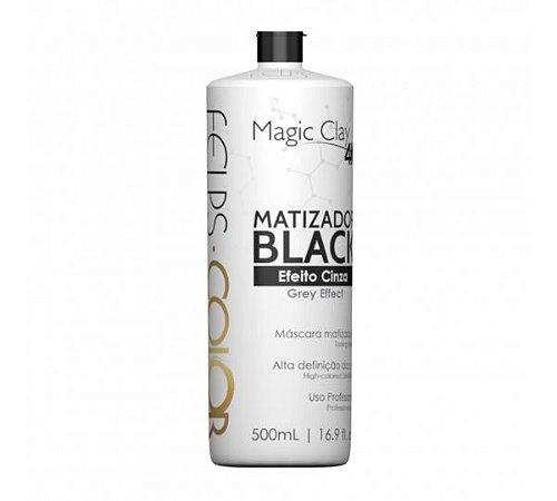 Matizador Black 4K Efeito Cinza Magic Clay Felps Professional 500ml