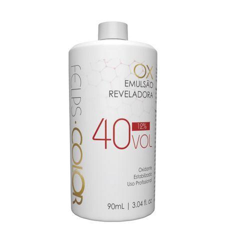 Água Oxigenada Felps Professional - Emulsão Reveladora 40 Vol 90ml
