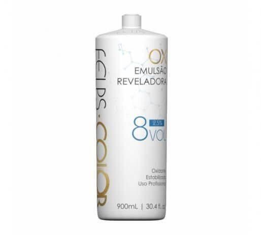Água Oxigenada Felps Professional - Emulsão Reveladora 8 Vol 900ml