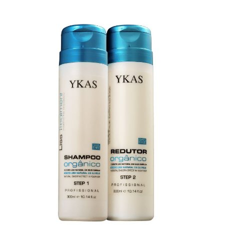 Escova Progressiva Liss Treatment Orgânico Ykas Kit - 2x300ml