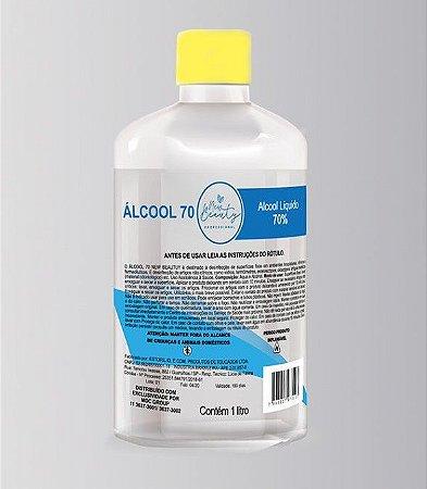 Álcool Etílico Líquido 70% 1 Litro New Beauty
