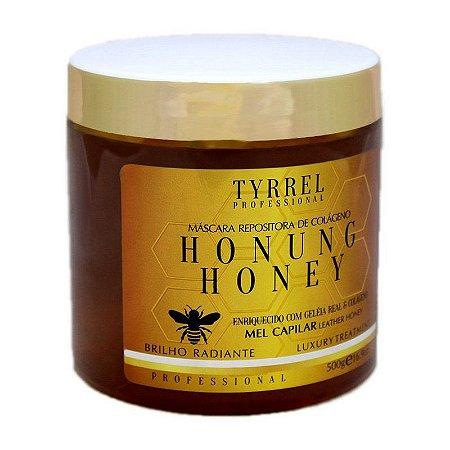 Máscara Repositora de Colágeno Honung Honey Mel Tyrrel Professional 500g