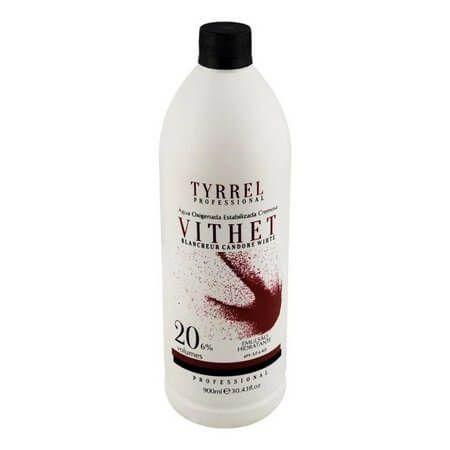 Água Oxigenada Vithet 20 Volumes Tyrrel Professional 900mL