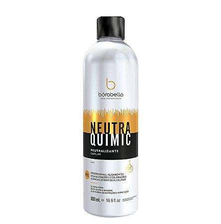 Neutra Quimic Neutraliza Ph Elimina Cheiro Quebra Borabella Professional 500ml