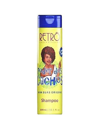 Shampoo Poder do Cachos Retrô Cosméticos 300ml