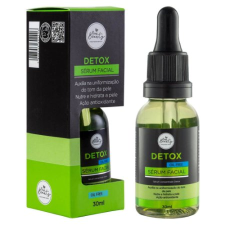Sérum Facial Detox Oil Free New Beauty 30ml