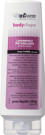Creme para Celulite Body Shape Lipoimpact Anticelulite Vita Derm 200g