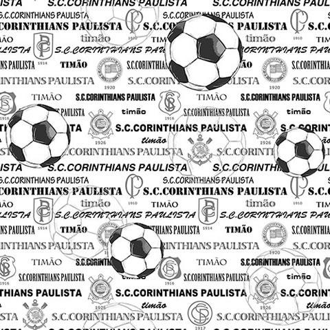 Papel de parede corinthians (Time) - Cód. SC 308-03