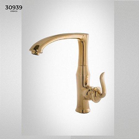 Torneira Class Decor Dourada - cód. 30939